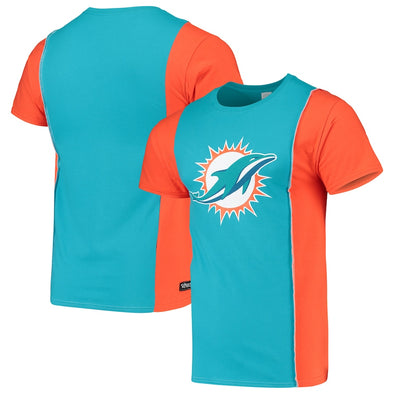 Miami Dolphins Split Side Short Sleeve Tee Top