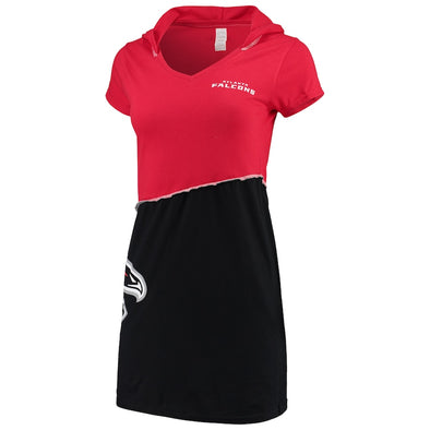 Atlanta Falcons Hooded Mini Dress