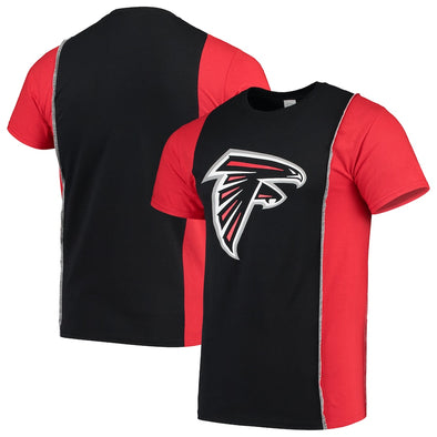 Atlanta Falcons Split Side Short Sleeve Tee Top