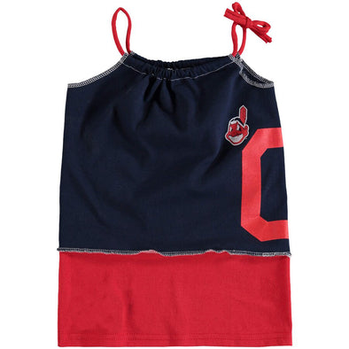Cleveland Indians Kid's Tank Dress