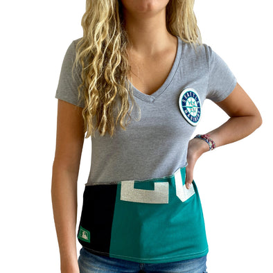 Seattle Mariners V-Neck Top