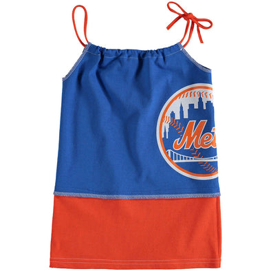 New York Mets Kid's Tank Dress
