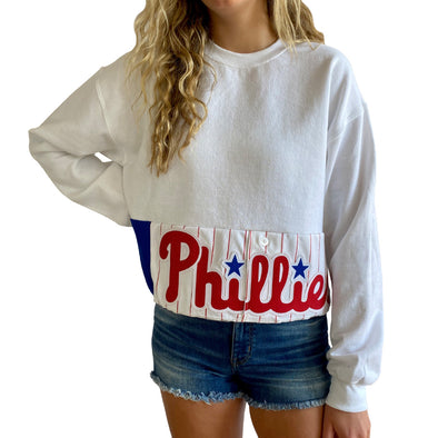 Philadelphia Phillies Crew Crop Sweatshirt