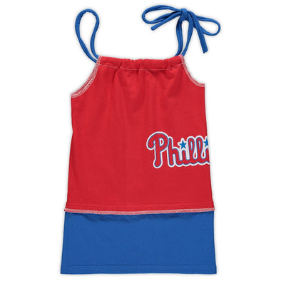 Philadelphia Phillies Kid's Tank Dress