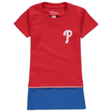 Philadelphia Phillies Kid's Tee Dress