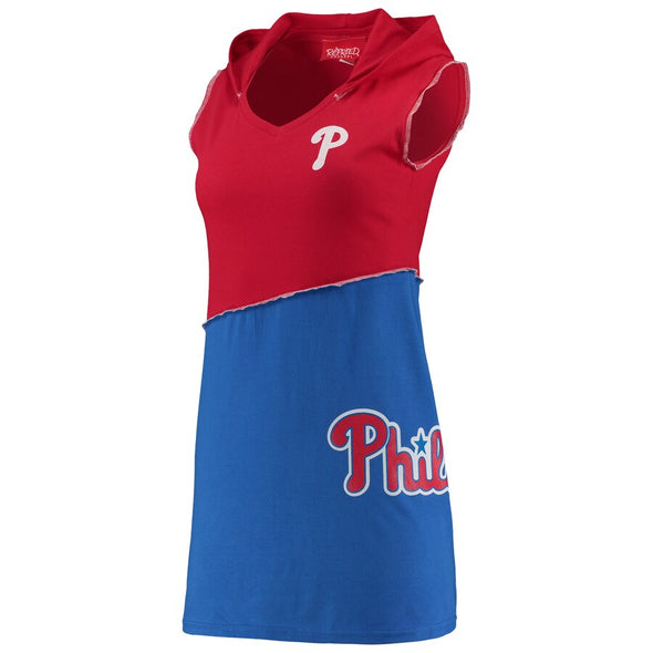 Philadelphia Phillies Hooded Mini Dress