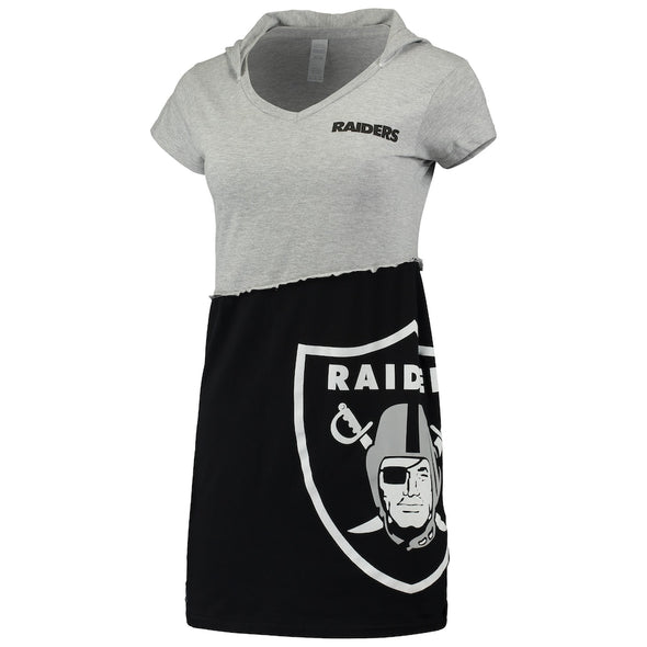 Las Vegas Raiders Hooded Mini Dress