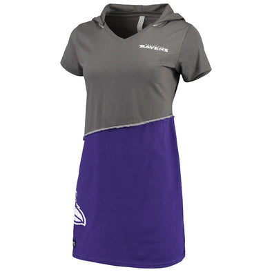 Baltimore Ravens Hooded Mini Dress