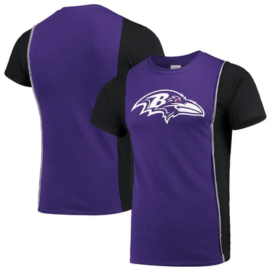 Baltimore Ravens Split Side Short Sleeve Tee Top