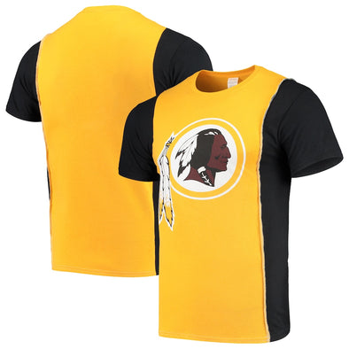 Washington Redskins Split Side Short Sleeve Tee Top