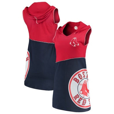 Boston Red Sox Hooded Mini Dress