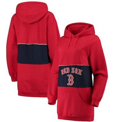 Boston Red Sox Hooded Sweatshirt Dress