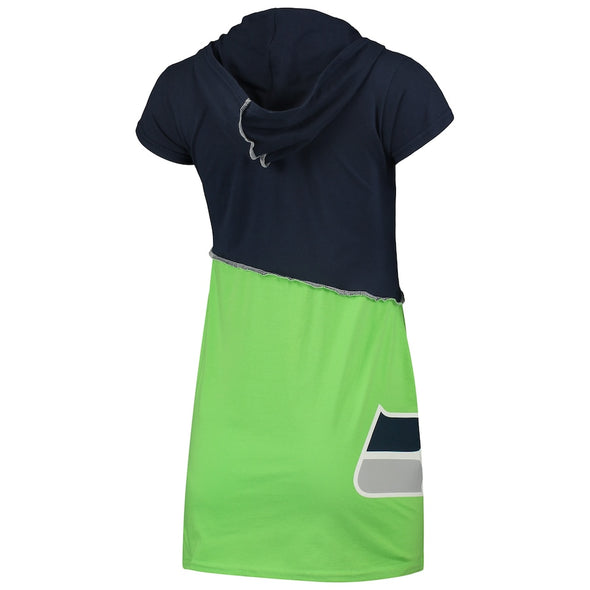 Seattle Seahawks Hooded Mini Dress
