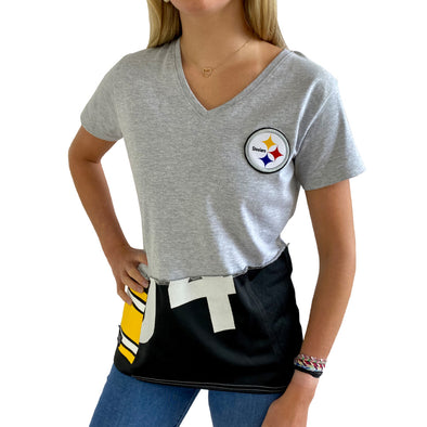 Pittsburgh Steelers V-Neck Top