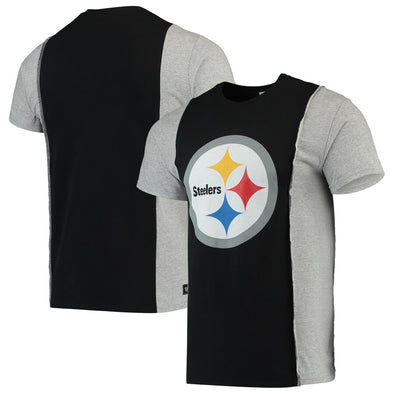 Pittsburgh Steelers Split Side Short Sleeve Tee Top