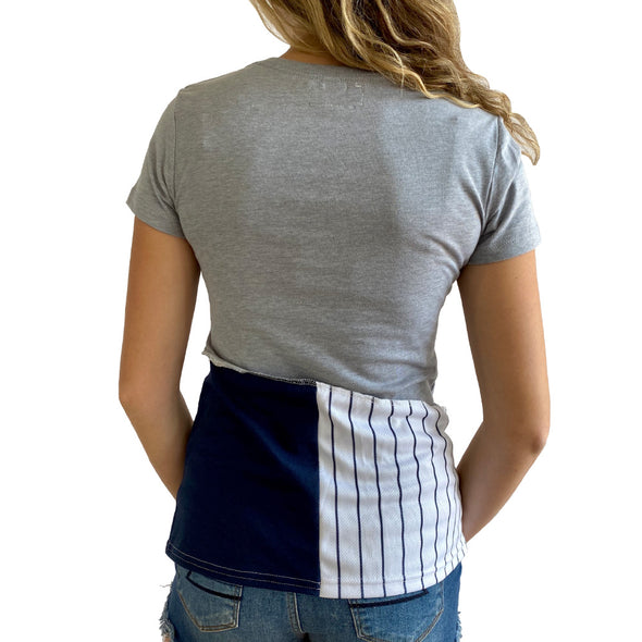 New York Yankees V-Neck Top