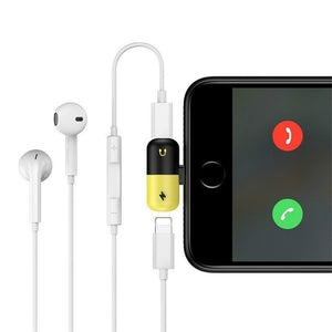 Iphone 2 In 1 Splitter Adapter Buy 2 Take 1 - Mareets Philippines