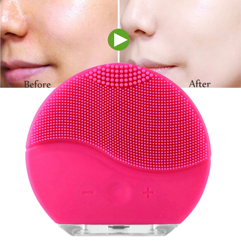 Rechargeable Vibrating Facial Cleansing Brush - Mareets Philippines