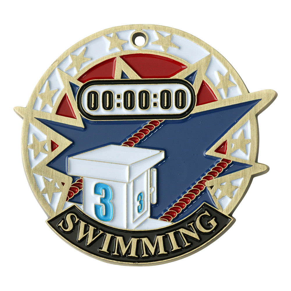 USA Swim Medallion