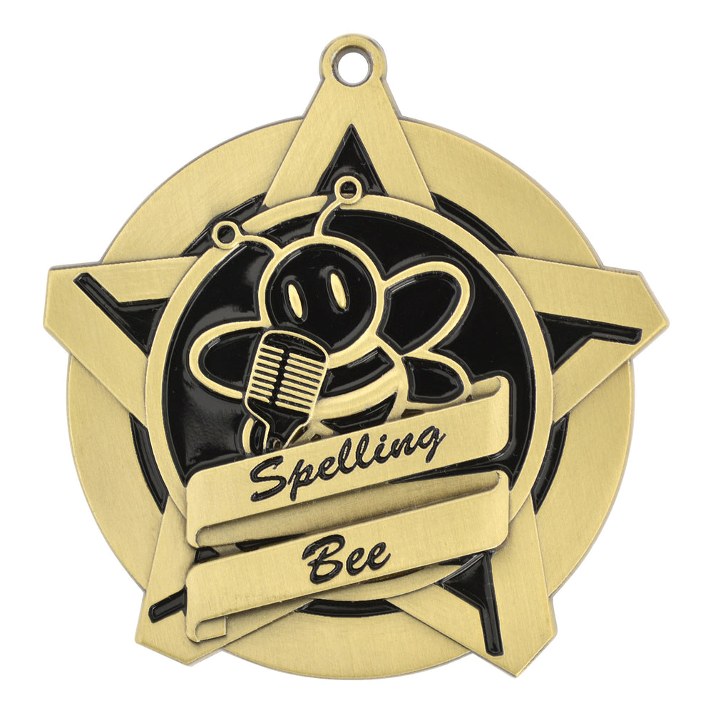 Spelling Bee Star Medallion