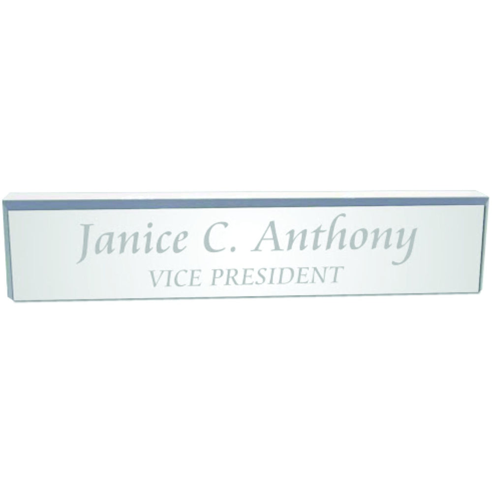 Acrylic Desk Wedge Desk Wedge Name Plates