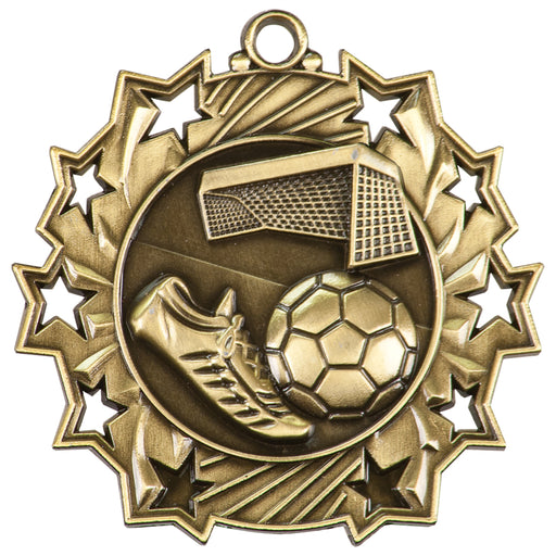 Ten Star Medallion - Soccer