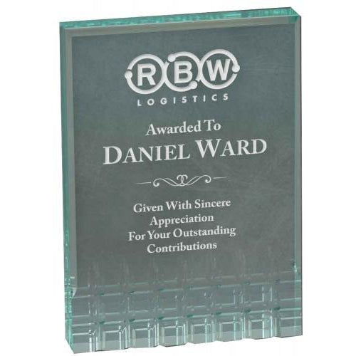 Faceted Rectangle Acrylic Awards Acrylic Awards