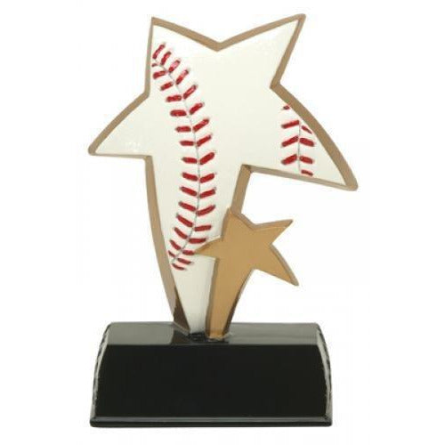 Sport Stars Multi-Color Baseball Baseball Trophies
