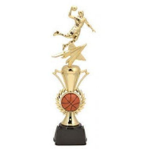 Basketball Male All Star with Riser Trophy Basketball