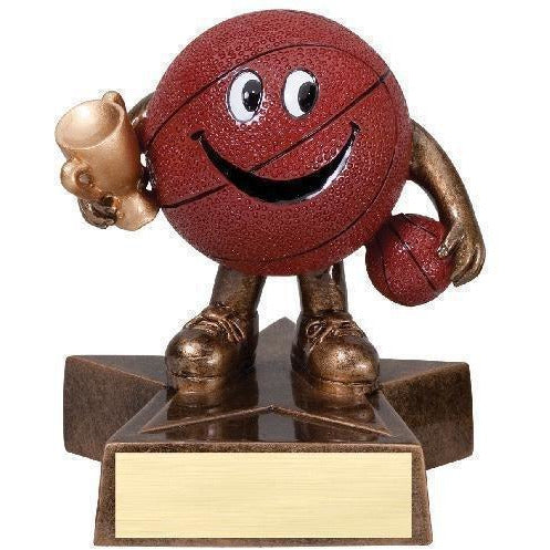 Lil' Buddy Basketball Resin Trophy