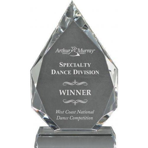 Corporate Crystal Diamond Crystal Glass Awards