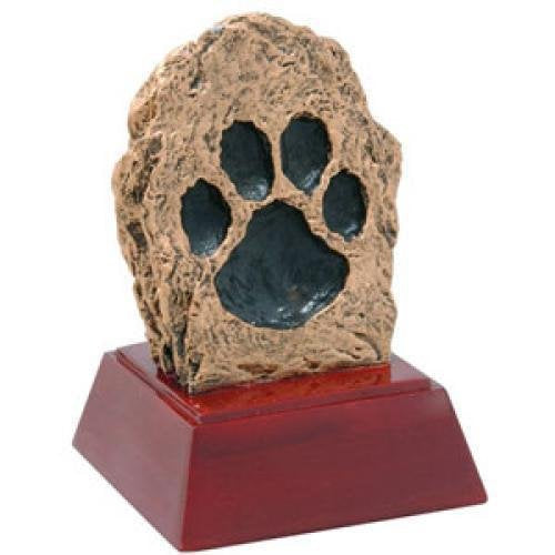 Paw Print Resin Mascot Awards