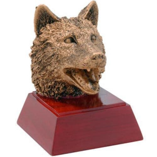 Wolf Resin Mascot Awards