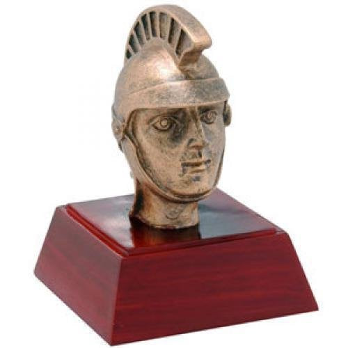 Spartan/Trojan Resin Mascot Awards