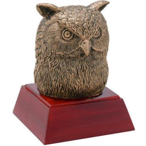 Owl Resin Mascot Awards