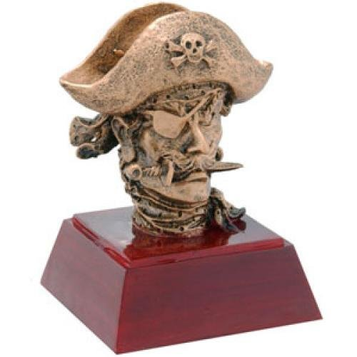 Pirate Head Resin Mascot Awards