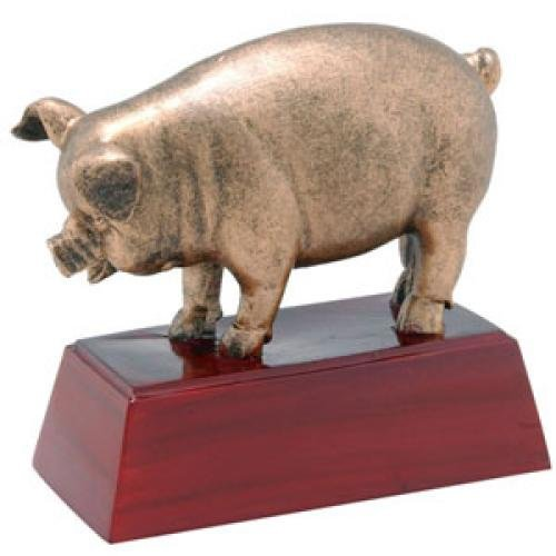 Pig Resin Mascot Awards