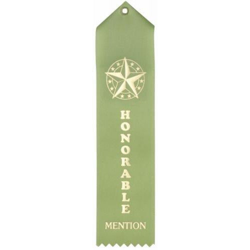 Honorable Mention Streamer Ribbon
