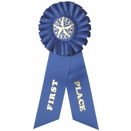 1st Place Rosette 8 Ribbon Ribbons