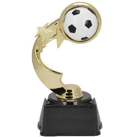 Soccer Ribbon Star Trophy Soccer Trophies