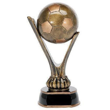 Signature Series Bronze Resin Soccer Ball Soccer Trophies