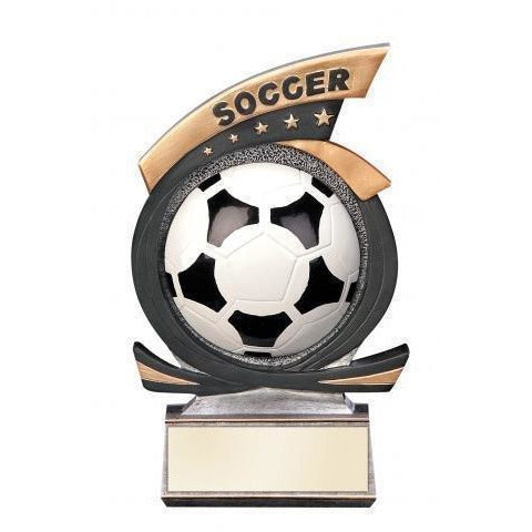 Gold Star Soccer Award Soccer Trophies - Action Awards