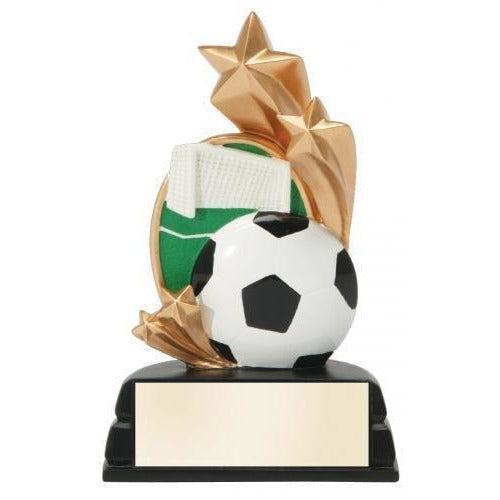 Star Full Color Soccer Award Soccer Trophies
