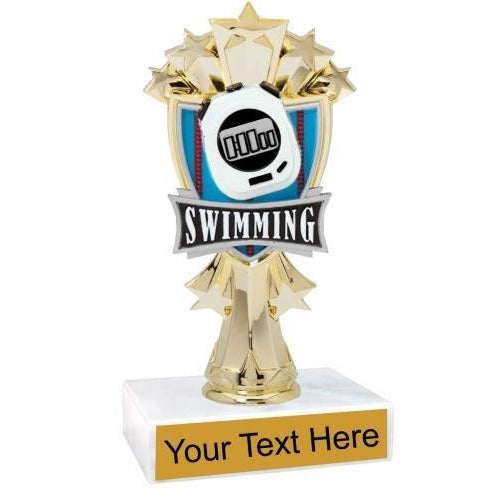 "7 3/4"" All Star Swimming Trophy"