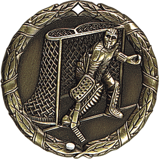 Hockey Goalie Extreme Medallion