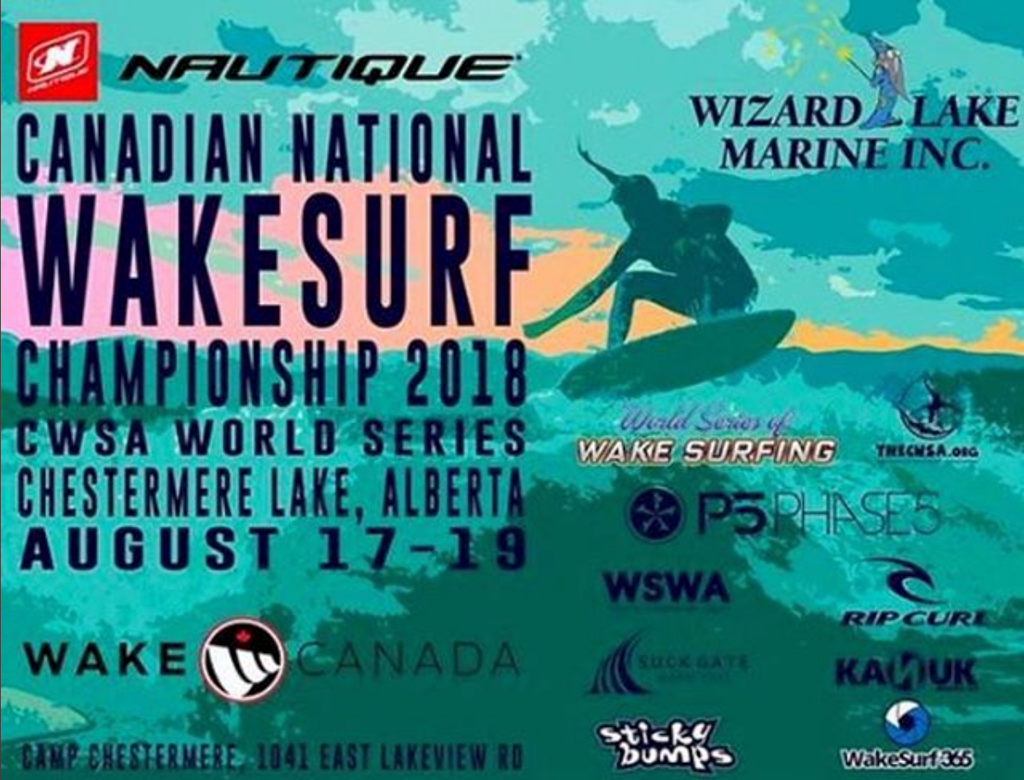 Canadian Wakesurf Nationals Live Feed