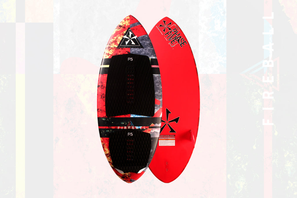 Board of the Week: Phase Five 2018 Fireball Hybrid Wake Surfboard