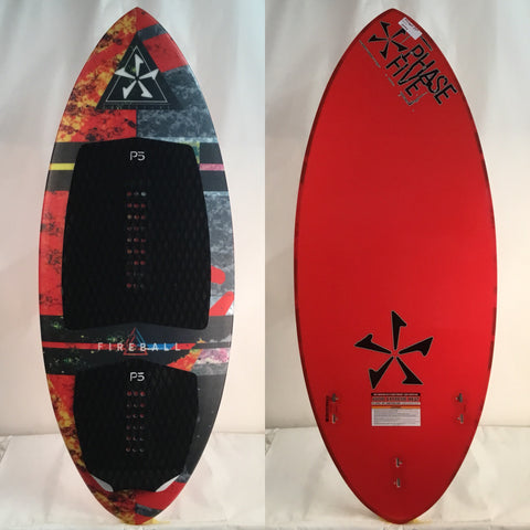 Phase Five Fireball DEMO Wake Surfboard 53""