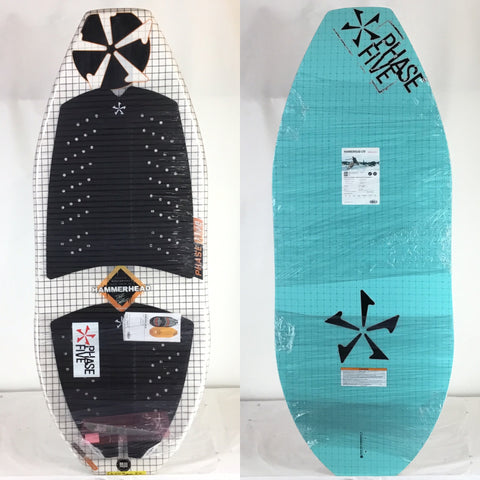 2020 Phase Five Hammerhead One Off Limited Edition Wake Skimboard 50""