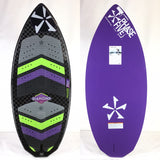 2020 Phase Five One Off Diamond Turbo LTD Wake Skimboard 51""